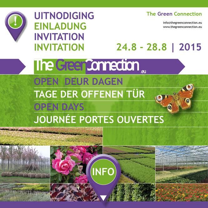 Opendeur dagen The Green Connection 24-8 t/m 28-8 2015 - Boomkwekerij ...